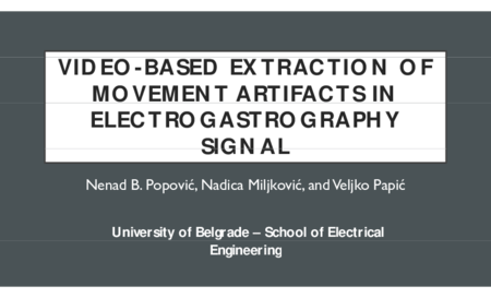 2.P1 Popovic – Video-based extraction of movement artifacts in electrogastrography signal