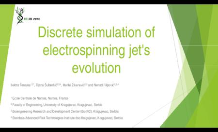 2.P4 Ferouka – Discrete simulation of electrospinning jet's evolution