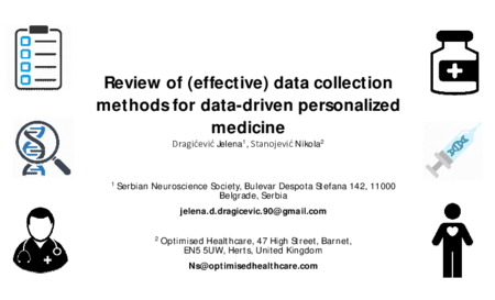 3.P7 Dragicevic – Review of (effective) data collection methods for data-driven personalized medicine
